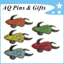 Stainless Steel 403 Offset Print Pin with Epoxy (badge-241)
