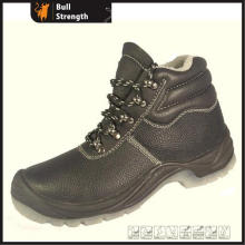 Steel Toe Cap Winter Safety Boot with Fur (SN1722)