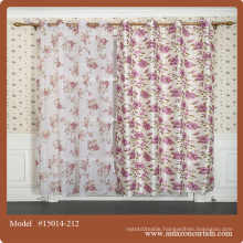 Contemporary curtains best selling luxury Printed blackout drapes for living room