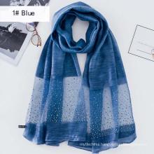NEW fashion women long plain cool good Solid color stone pearl abaya one piece hijab muslim hijab fashion malaysia hat