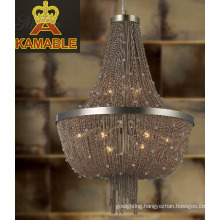 Modern Silver Chain Pendant Lighting (KA1292)
