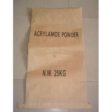 Papier Kraft résistant à l'humidité Sac à composition mince en film mince pour poudre d'acrylamide