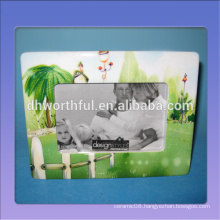 Cheap handmade frames for pictures in ceramic material