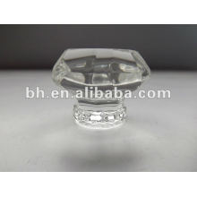 Decorative light-shape crystal curtain tube finial crystal finial curtain rod end caps