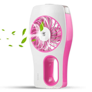 Handheld USB Mini Misting Fan with Cooling Humidifier