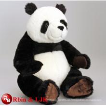 Treffen Sie EN71 und ASTM Standard ICTI Plüsch Spielzeug Fabrik Plüsch Plüsch Panda Spielzeug