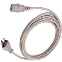 LSZH Cable 3 Pins Plug to IEC C13 Brazil Power Cord