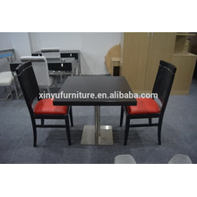 Modern restaurant chair and square table set XYN2480