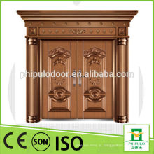 Porta popular da imitação de cobre da porta dobro da casa de campo da villa do projeto 2015