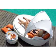 Bed Beach Rattan Lounge Design Modern Outdoor