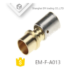 EM-F-A013 Quick connector brass compression union pipe fitting