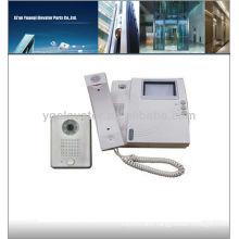 Elevator intercom system, wireless video door phone intercom system