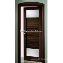 Modern Interior Door with Glass Inserts