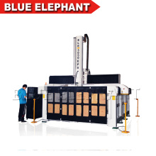 3m * 5m cnc fresadora cnc enrutador grande máquina, máquina de carpintería de 5 ejes cnc
