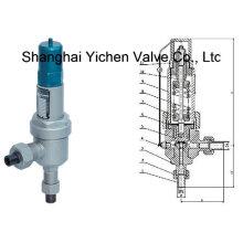 Válvula de seguridad de presión tipo soldadura por enchufe (YCA61H / Y)
