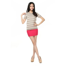 Ladies Fashion Cashmere Sweater in Short Sleeve (3074-2013005)