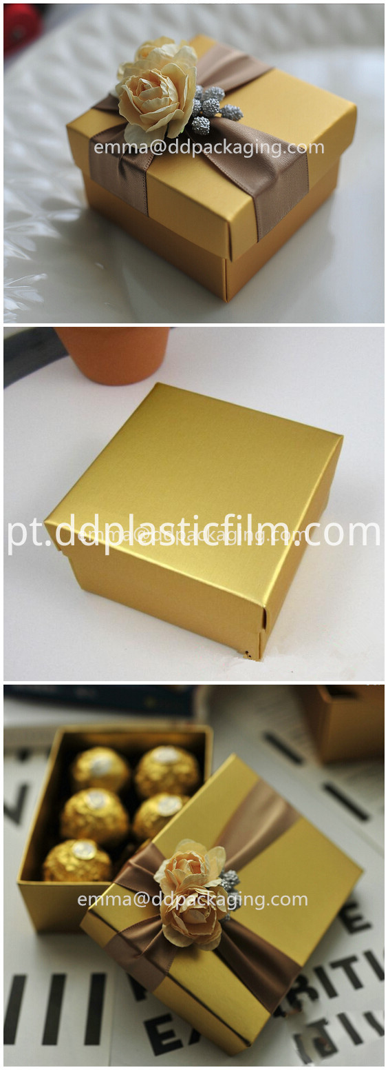 Gold metallized film