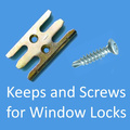 Bloqueia Hardwares para portas uPVC Windows