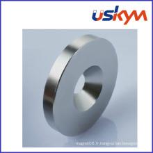 Aimant d'anneau magnétique NdFeB fritté