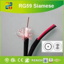 Xingfa изготовленный Rg59 20AWG Проводник с питанием