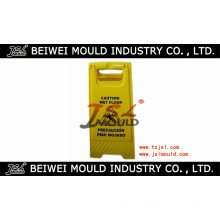 Plastic Warning Sign Board Mould
