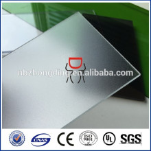 klare 2mm dicke mattierte Polycarbonat solide pc mattes Blatt für Bürostuhl Matte