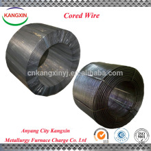 Alambre con núcleo de ferroaleación Alambre / CaFe / SiCa / CaAl proveedor de alambre con alambre de China