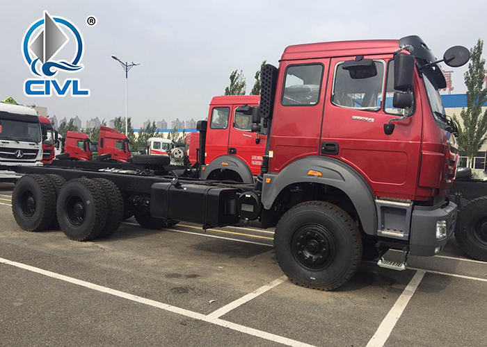 Beiben 6x4 Chassis 4