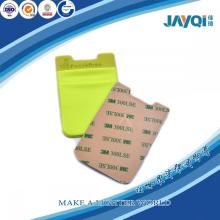 Tarjeta del bolsillo del silicón del teléfono móvil del precio de fábrica