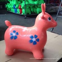 PVC-Gummi aufblasbare Tier springende Rotwild Tier Spielzeug Kinder Stunde