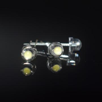 5mm  White LED Lights 6-7lm Pure White