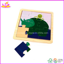 Elephant Shape Baby Jigsaw Puzzle, Made of Plywood (W14C063)
