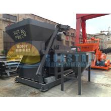 Planta mezcladora concreta mezclada completamente automática de gran capacidad Hzs60