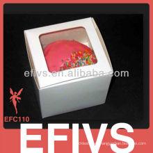 2013 Hermosa Impresión personalizada Cup Cake Box
