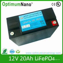 Batería de litio portátil, paquete de 12V 20ah