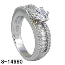 New Fashion Jewelry 925 bague de mariage en argent sterling