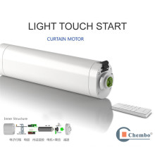 China wholesale light touch star 2000w electric curtain motor