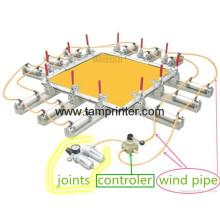 TSM-Cl1 Tamprinter Simple écran pneumatique qui s'étend de la Machine