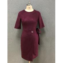robe de la mode du vin des femmes