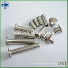 round head steel tubular rivets