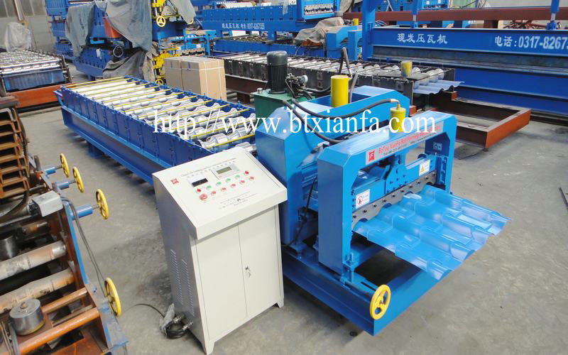 aluminium roof making machine 1