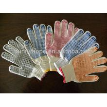 String strickt pvc gepunktete Handschuhe