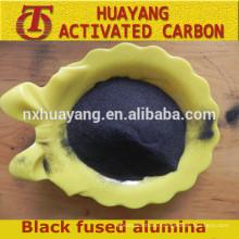 Black Fused Alumina/Black Corundum,high grade abrasive/refractory material
