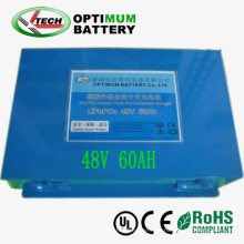 3kwh Electromoto 48V 60ah LiFePO4 Battery Pack for Electro Motorcycle
