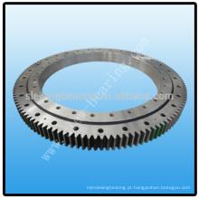Rolamento de rotação com engrenagem externa para máquinas giratórias