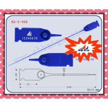 Selo de plástico ajustável BG-S-006 selo plástico para uso ajustável, tira de vedação do recipiente, fechadura de contêiner