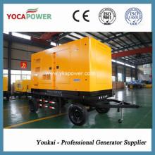 250kVA / 200kw Remolque Generador Diesel Móvil con Motor Shangchai