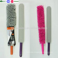 Flexible Dusting Wand with Microfiber Sleeve