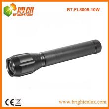 Заводское предложение CE ROHS Best Focus Zoom 3c cell Long Beam High Power CREE XML T6 10W Светодиодный мощный факел с многофункциональными функциями