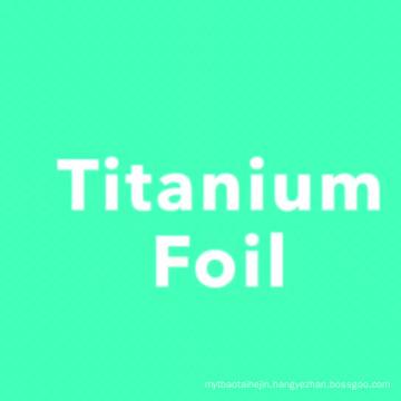 High pure medical Gr2 titanium foil coil